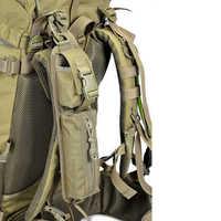 Bolso táctico con correa para hombro, para artículos diversos, mochila Molle, accesorio, bolsa para acampar al aire libre, herramienta EDC, bolsa compacta
