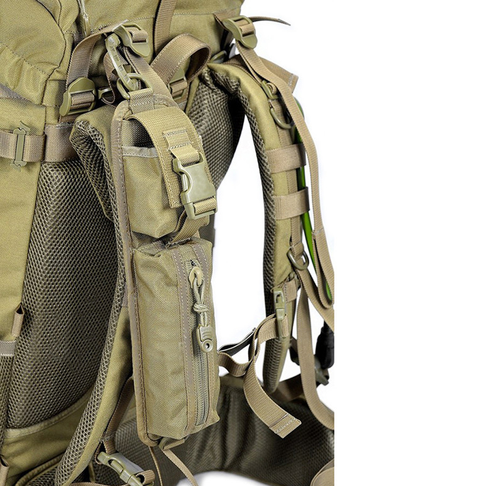 Tactical Shoulder Strap Sundries Bags Backpack Molle Accessory Pouch Outdoor Camping EDC Tool Compact Pouch Pack