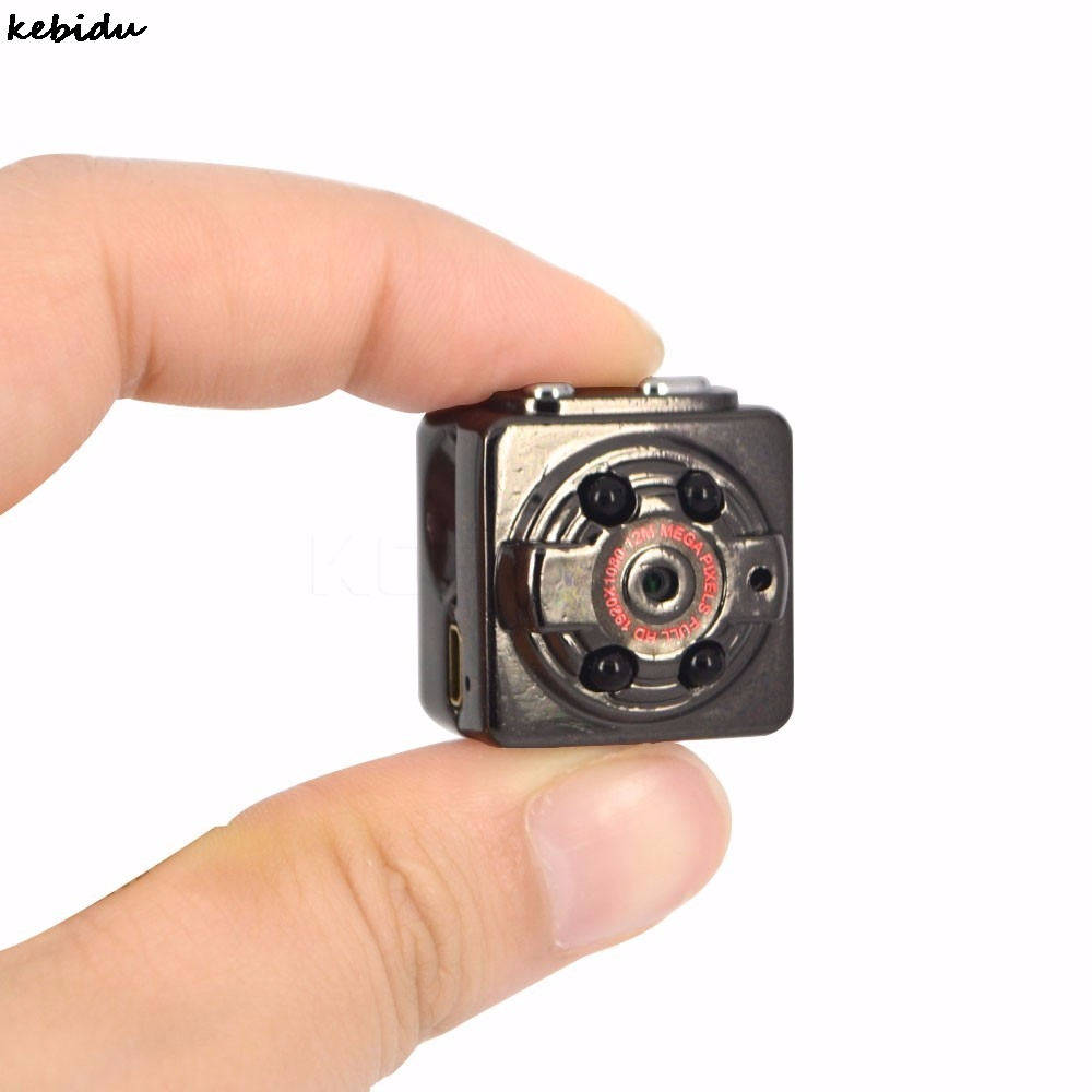 HD 1GB TF Sport Spy Card Mini Camera SQ8 1080P 720P Camera DV DC Audio Video Recorder Infrared Night Vision Digital Smallest Cam mini spy voice recorder