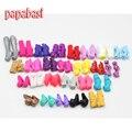 Envío Libre Papabasi 5 par Zapatos Para Muñecas Monstruo de Moda Hermosa Tacones Altos Monstruo Muñeca Sandalias Botas de Estilo Mixto zapatos