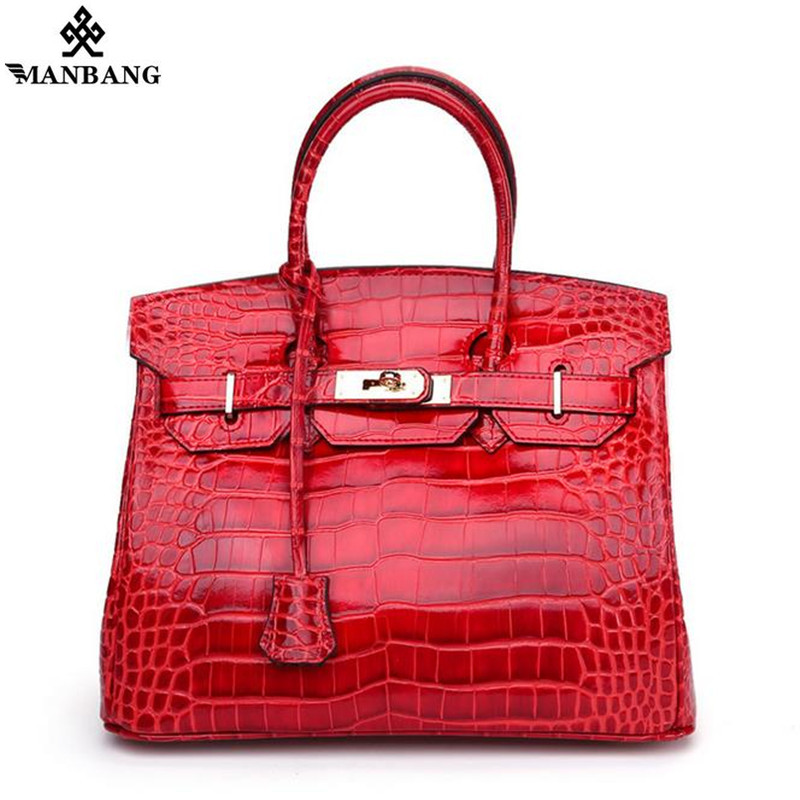 Genuine Leather Handbag luxury fashiom Platinum handbags women bags designer Mujer Bolsos ladies Shoulder Bag Big Tote rusoonnic women handbag set designer ladies composite bag pu leather shoulder bags alligator tote bolsos mujer mochila