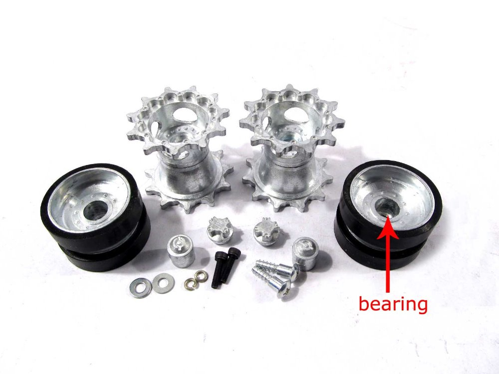 Online Buy Wholesale Small Rubber Wheels With Bearings