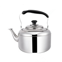4L/5L/6L Large Capacity Whistling Water Kettle For Gas & Induction Thickened Stainless Steel Water Heater Boiler Tea Coffee Pot цена и фото
