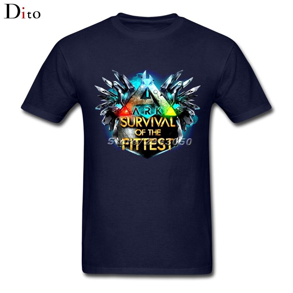 Arche Überleben Entwickelt T-shirt Für Männer Persönlichkeit Kurzarm Mode Benutzerdefinierte 3XL Paar T Shirts
