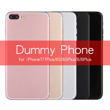 Non-Working 1:1 Size Metal Dummy Display Phone for iPhone 7 4.7 / 7 Plus 5.5 Fake Toy Phone Model Case for iPhone 6 6S 5S SE