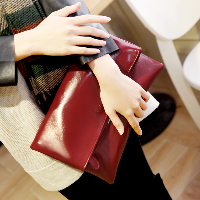 Summer 2018 Korea fashion envelope bag s casual hand bag Clutch female bag ...