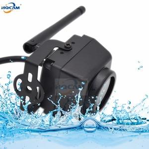 Image 1 - HQCAM wodoodporna zewnętrzna kamera IP66 720P HD Mini Wifi IP wykrywanie ruchu noktowizor karta SD obsługa androida iPhone P2P Camhi