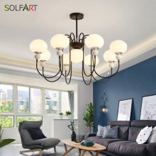 New Modern Glass chandeliers for Livingroom Bedroom indoor lamp K9 crystal lustres de teto ceiling chandelier new design led crystal light ceiling crystal chandelier modern home chandeliers