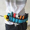 Eletricistas Ferramenta de Reparo Da Correia Bolsa Bolsos Maleta de Ferramentas Eletricista maleta de Ferramentas Da Cintura Saco Impermeável Multifuncional Lona Saco de Ferramentas de Carpinteiro