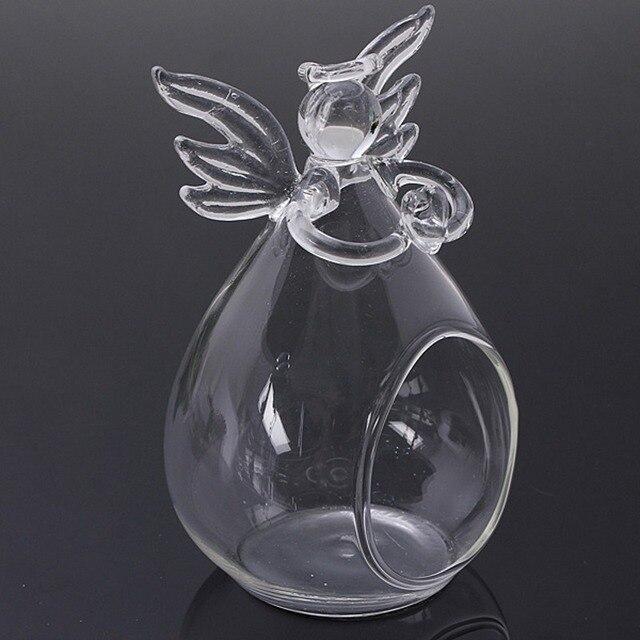 orando ngel jarrones de cristal florero de cristal transparente de flores decoracin para el hogar decoracin - Jarrones De Cristal