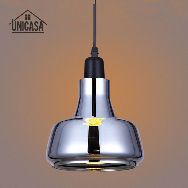 Glass Shade LED Modern Pendant Lights Antique Kitchen