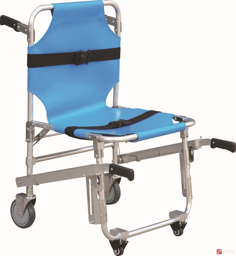 Stretcher Chair Emergency Medical First Aid Stretchers Light Weight Strong Folding Stair Aluminum Alloy Stretcher Chairs In Safety Survival From Sports