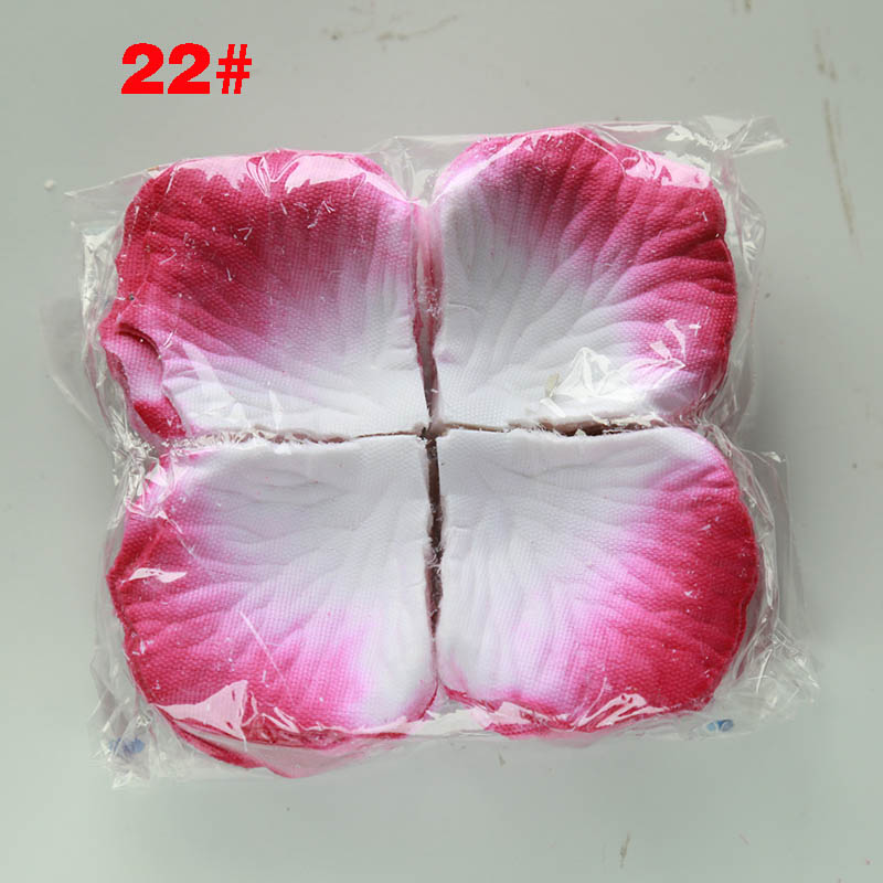Artificial Rose Petals 1000pcs Flower Girl Toss Silk Petal Fake Petals For Wedding Petales De Rose Party Decoration
