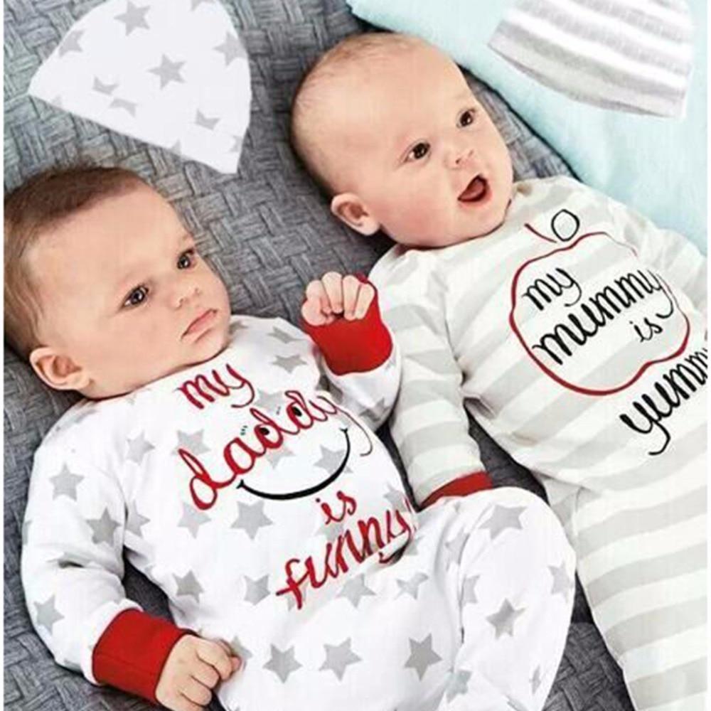 Babykleding 2017 Nieuw Pasgeboren Baby Jongen Meisje Romper Kleedt - Babykleding
