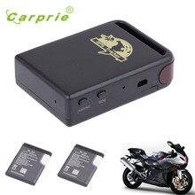 CARPRIE Súper Fabricante de Automóviles envío de la gota Nuevo TK102 GPS/GSM/GPRS Tracker Vehículo Mini Dispositivo de Seguimiento + 2 batería P20