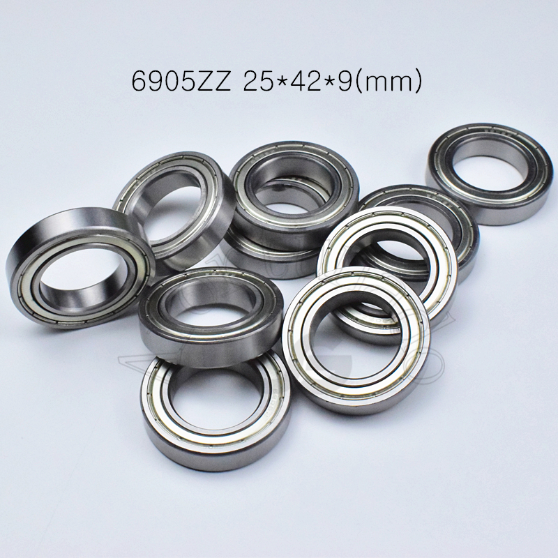 6905ZZ 25*42*9(mm) Bearing Abec-5 Metal Sealed Bearing Thin Wall Bearing 6905 6905Z Chrome Steel Bearing
