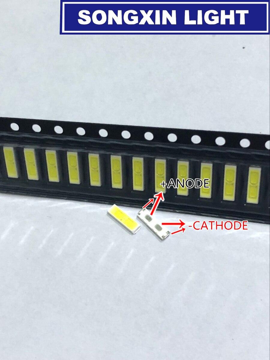 2000 個特殊 2 Lg LED Lcd バックライト Tv アプリケーション LED 1 ワット 6V 7020 クールホワイト液晶 Tv アプリケーション BD72K LED  グループ上の 電子部品 & 用品 からの ダイオード の中 1