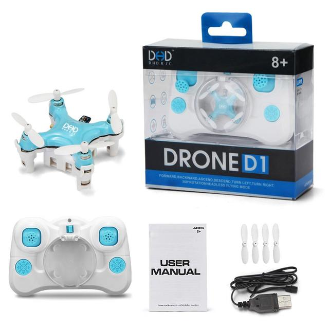 F16227/8 JJRC DHD D1 Supper Mini Pocket Drone 2.4G 4CH Smallest RC Copter Headless Mode 6-Axle Gyro RC Quadcopter Toy Gift FS