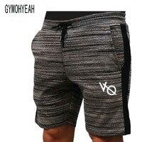 Gymohyeah New Fashion Men Sporting Beaching Shorts Trousers Cotton Sweatpants Fitness Short Jogger Casual Gyms Men
