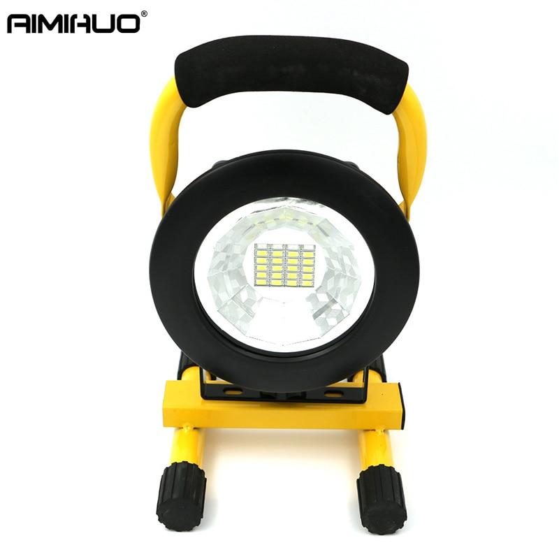 AIMIHUO Portable lantern LED power lamp lawn lamp environmental energy-saving lamp waterproof lighting