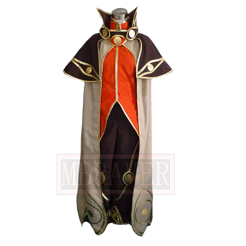 Ragnarok Online Male Wizard Cosplay Halloween Costume Custom Made Any Size