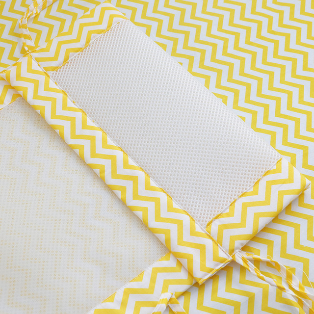 2Pcs/Set Breathable Summer Baby Bedding Bumper Collision Half Around baby bumper crib set Cotton Printing Mesh Safety Rails 4