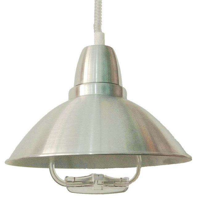 Modern Chrome LED Flexible Pendant Chandelier Lift up down Light For