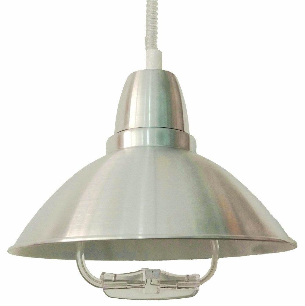 Moderne Chrome LED Flexible Pendentif Lustre Ascenseur up down Lumière Pour Salle À Manger Salle D'étude Maison Déco Lustre Suspendu Lampe Luminaire