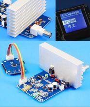 12V 15W цифровой светодиодный радиоприемник PLL стерео FM передатчик 76M 108 МГц готовая плата