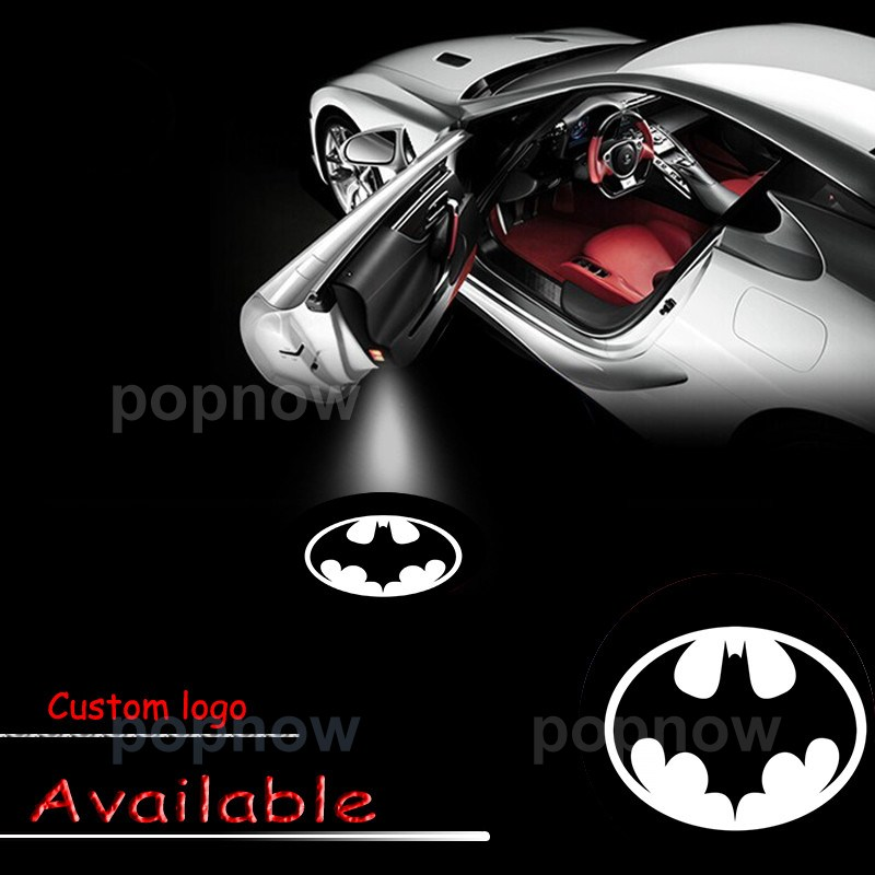 4pcs Batman Black & White Car 2nd Gen Door Step Projector LED Light Laser Lamp Ghost Shadow #1928*4 micro sd card 8gb 16gb 32gb 64gb 128gb class 10 uhs 1 4gb class 6 memory card flash memory microsd for smartphone