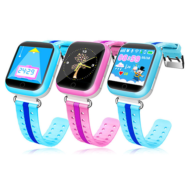 GPS Remote Monitor Smart Watch with Wifi 1.54 inch Touch Screen SOS Call Location Device Tracker Digital Wristwatches for Kids