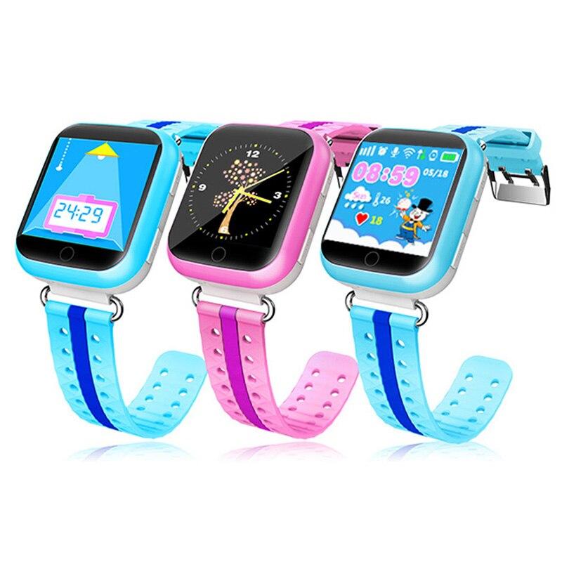 GPS moniteur à distance montre intelligente avec Wifi 1.54 pouces écran tactile SOS appel localisation dispositif Tracker montres numériques pour enfants-in Montres enfant from Montres    1