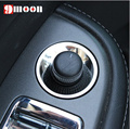 Stainless steel switch decoration light circle sequins For Chevrolet Cruze Malibu AVEO TRAX Opel mokka ASTRA J Insignia