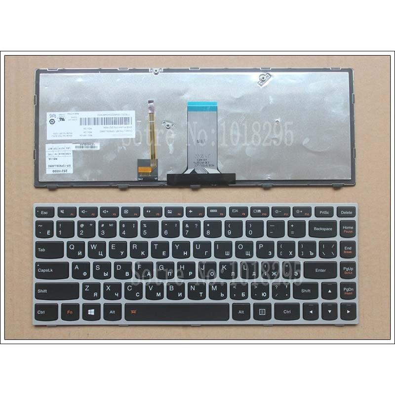 Laptop Keyboard for Lenovo G40-30 G40-45 G40-70 G40-75 G40-80 B40-30 B40-45 B40-70 Russian RU with Backlight New
