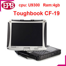 Hot selling!!!2017 High Quality Toughbook CF19 cf-19 CF 19 laptop Core (dual) U9300 4 gb DDR2 DHL fast delivery Laptop CF 19