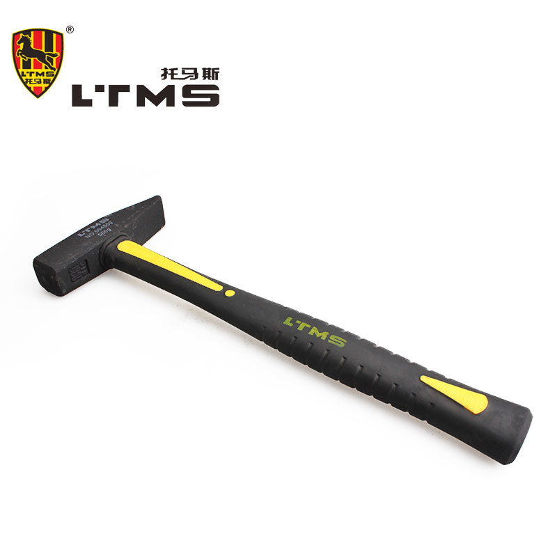 High Quality Fiber Handle Fitter Hammer Glass Fiber Plastic Packages Handle Repair Tool Hammer Construction Tools Sledge Hammer metal mulisha sledge hammer cooler military green