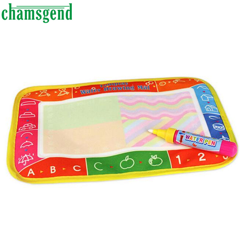 New Water Drawing Painting Writing Mat Board Magic Pen Doodle Toy Gift 25 x 16.5cm Levert Dropship S9292