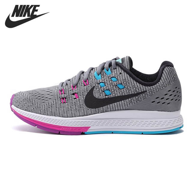 Original NIKE AIR ZOOM STRUCTURE 19 Women's Running Shoes Sneakers