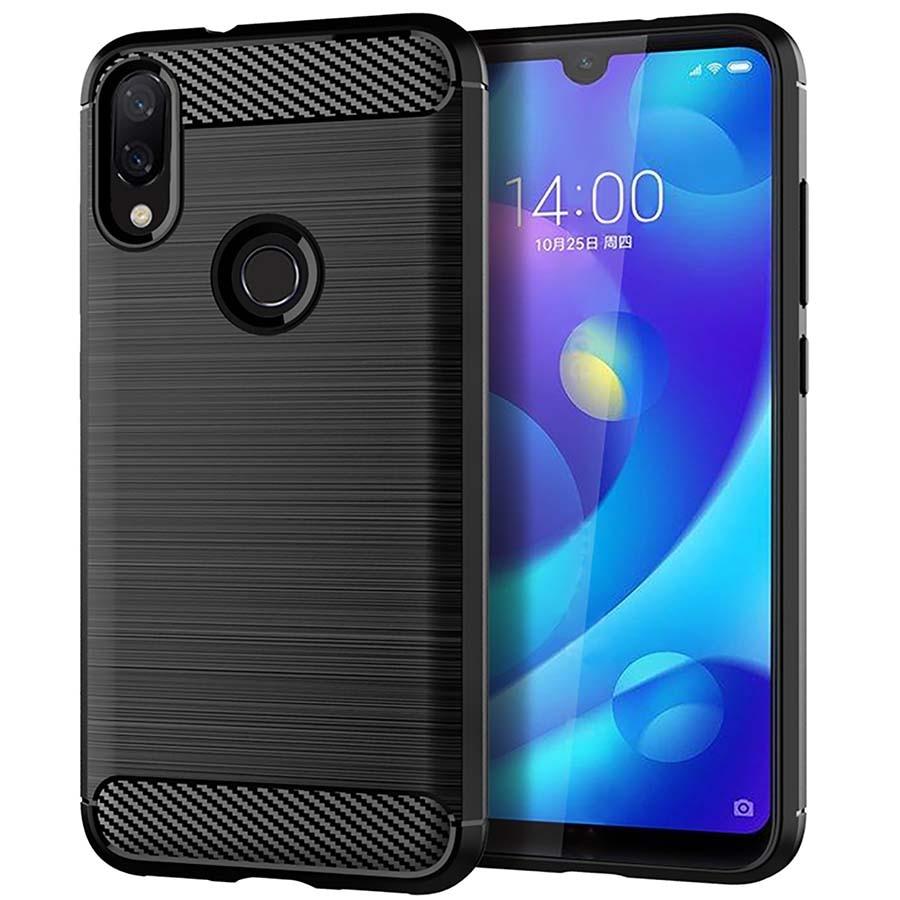 Global Cases for Xiaomi Redmi Note 7 Pro Case Redmi 7 Back Phone Cover Carbon Fiber TPU Protective Xiomi Redmi Note7 Pro redmi note 7 pro cover