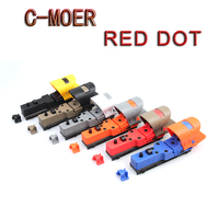 Hot Tactical Red Dot Scope EX 182 Element SeeMore IPSC riflescopeC MORE Red Dot Sight 6 Color Optics Hunting Scope Free Shipping