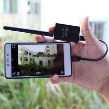 FPV Mini 5,8G OTG 150CH мини приемник UVC видео нисходящий канал авто-поиск VR очки Android телефон приемник для FPV гоночный Дрон