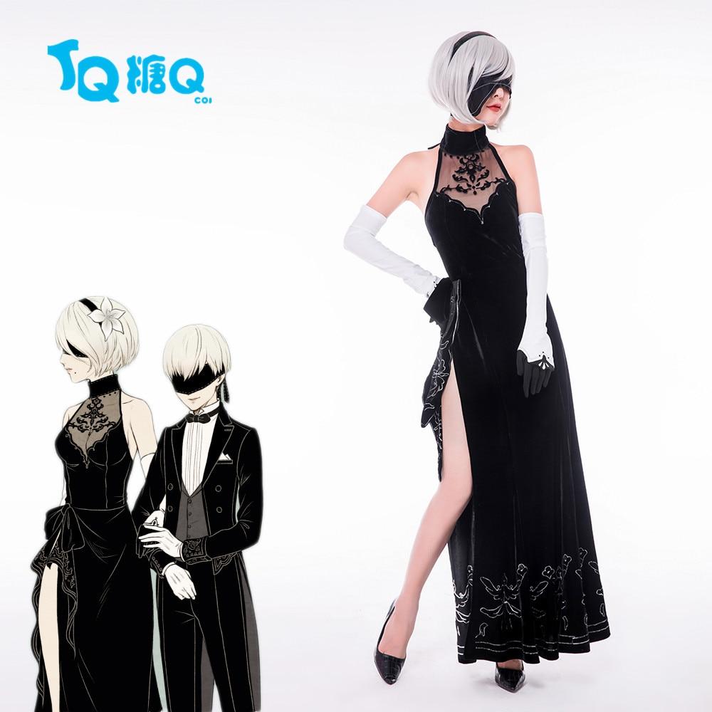 Hot Game Nierautomata Yorha 2b Cosplay Costume Halloween Costumes