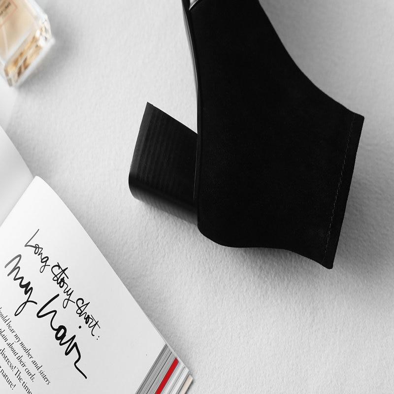 En Mode noir Chaussures Hiver Rouge Beige 2018 Mather rouge Haute 100Vache Bottes Robe Cuir Femme Dames Automne Nouveau Noir Abricot De Talons OPXkZiu