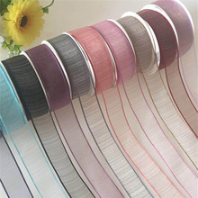 10 Yards/lot 2.5cm Width Lace Ribbon for Wedding Cake Gift Decoration Craft Supplies DIY Holiday Accessories