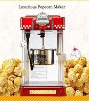 2 5 unze Elektrische Popcornmaschine Rot Farbe Retro Stil Popcorn Maker Einfache Bedienung