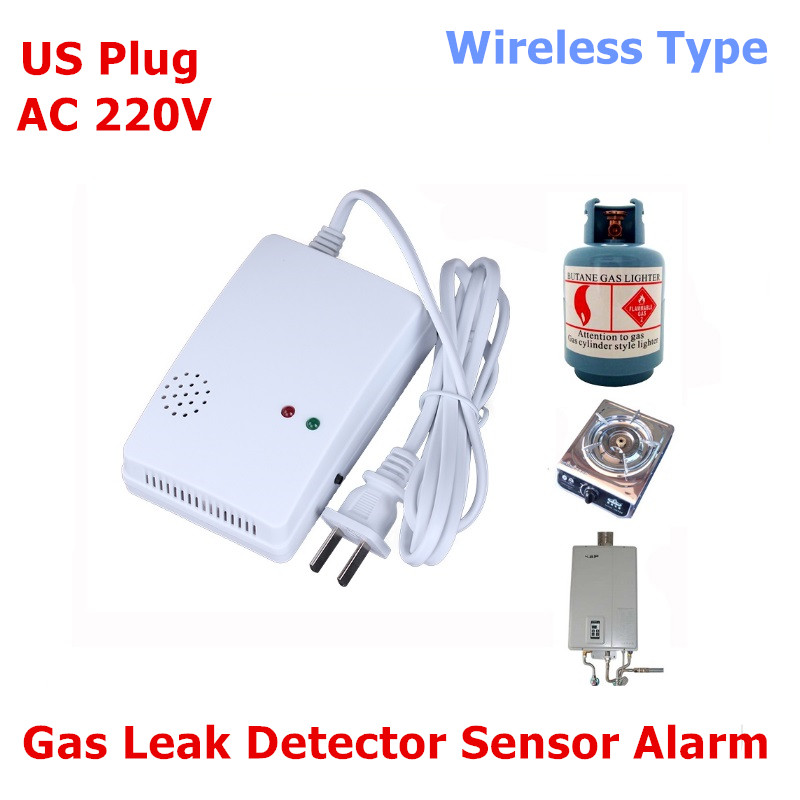 High Sensitivity Standalone Combustible Gas Alarm LPG LNG Coal Natural Gas Leak Detector Sensor for Home Security Safety