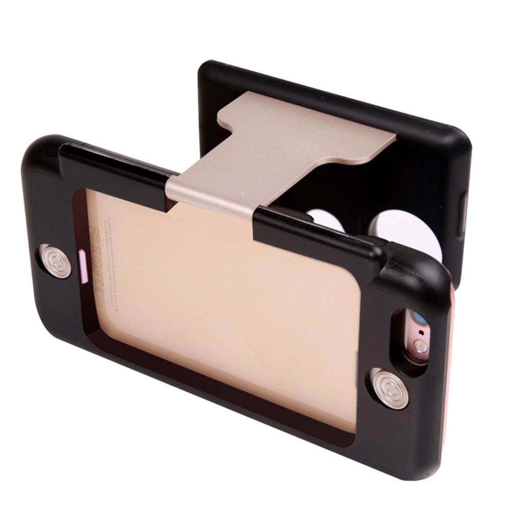 Portable Handheld 3D <font><b>Movie</b></font> <font><b>Game</b></font> VR <font><b>Glasses</b></font> <font><b>Case</b></font> Cover for iPhone 6/6s Plus 5.5