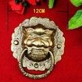 120mm  Copper door handle  Antique Copper  Ancient architecture  Handle  Lionhead  Handle  Copper Handle Wholesale