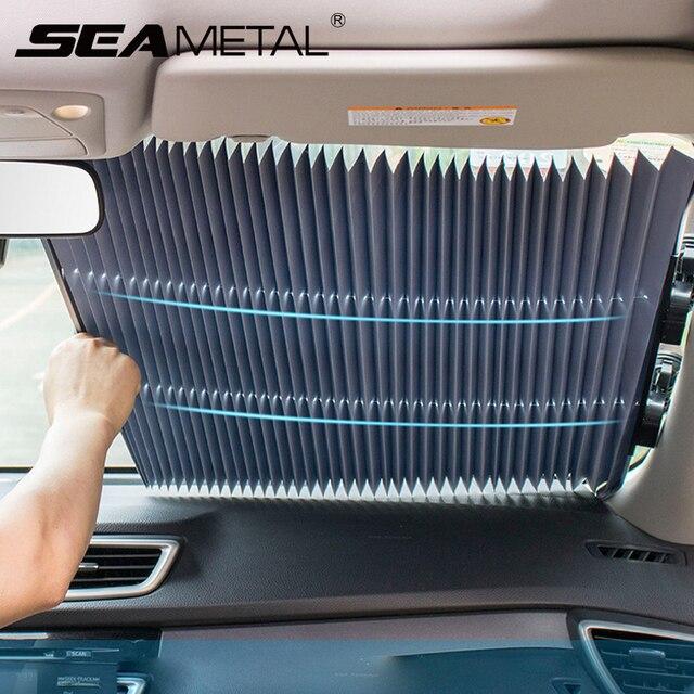 Sombra de sol do carro auto janela escudo universal pára brisa dianteiro pára sol janela traseira viseira uv proteger proteção solar acessórios