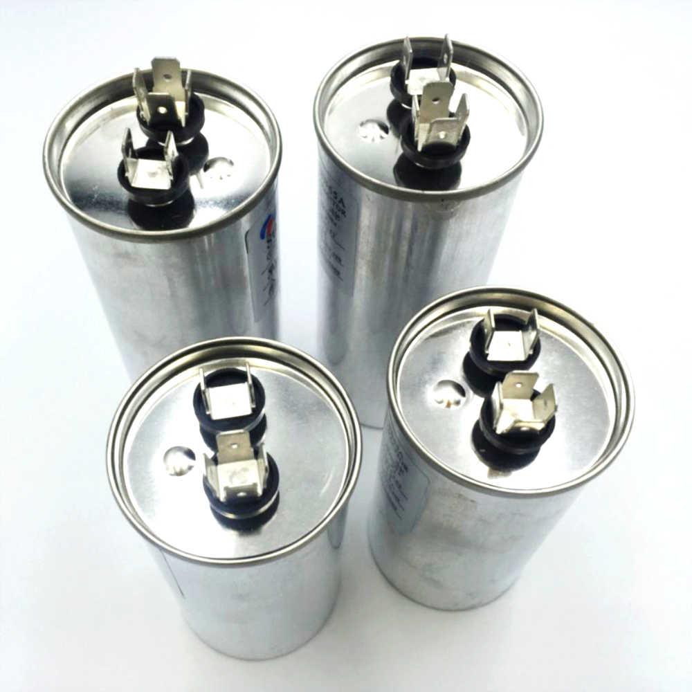 Двигатель переменного тока конденсатор кондиционера Компрессор пусковой конденсатор CBB65 450VAC 20 мкФ 25 мкФ 30 мкФ 35 мкФ 40 мкФ 45 мкФ 50 мкФ 60 мкФ 70 мкФ